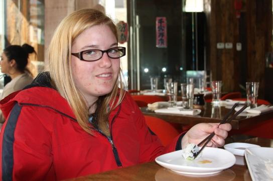 Katelyn sushi