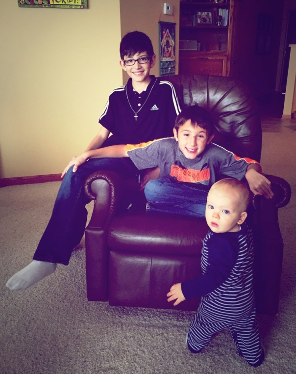Cole, Peyton and Harrison