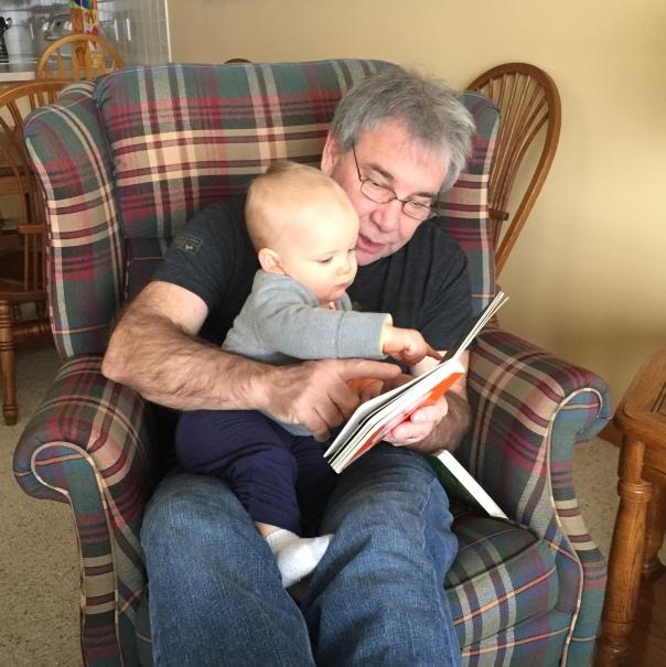 Grandpa and Harrison