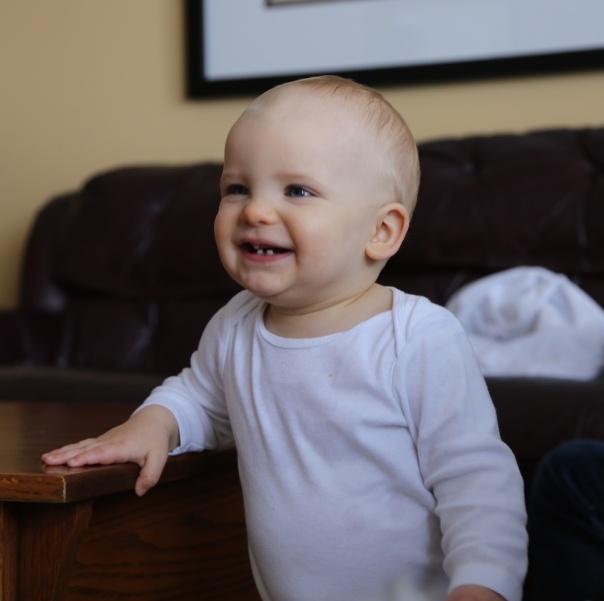 Harrison Smiling